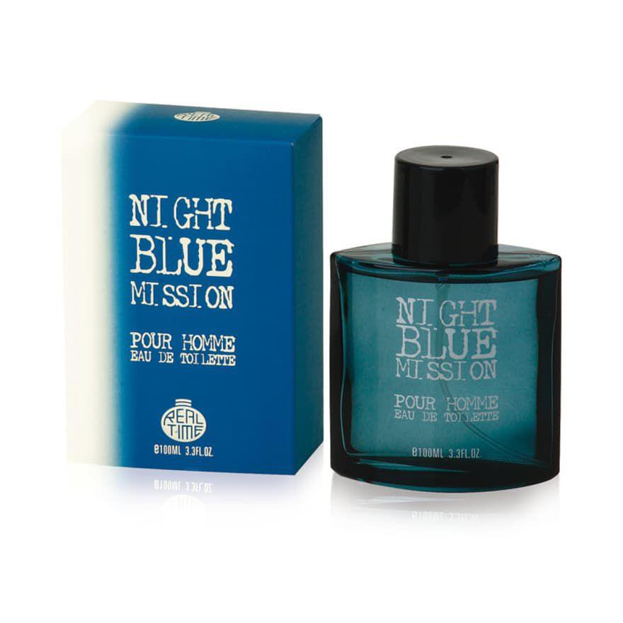 PROFUMO SOLE UOMO 100ml NIGHT BLUE MISSION FOR MEN