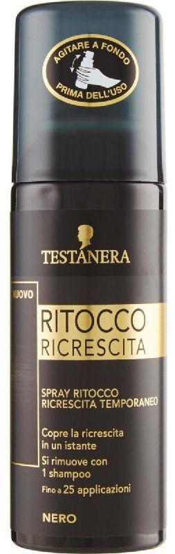 TINTA SPRAY CAPELLI TESTANERA RITOCCO RICRESCITA 120ml NERO