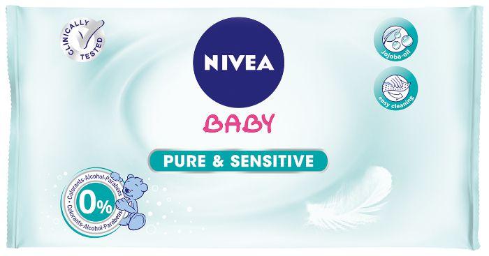 SALVIETTE NIVEA BABY x63 SENSITIVE 1pz