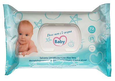 SALVIETTE CONV D. NON ACQUA x72 BABY POP-UP 1pz