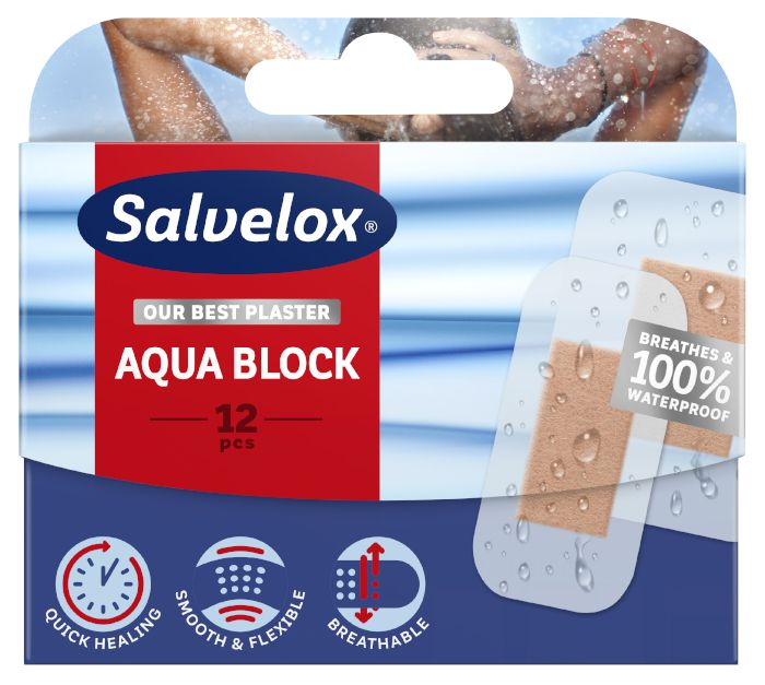 CEROTTI SALVELOX AQUA BLOCK x12pz CURA RAP