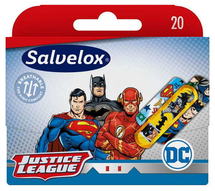 CEROTTI SALVELOX x20pz JUSTICE LEAGUE