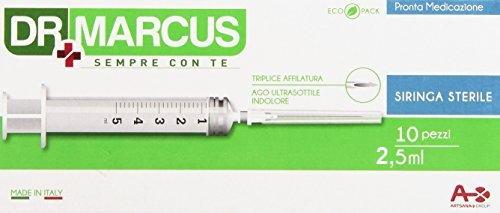 SIRINGA DR.MARCUS 2,5CC x 10pz