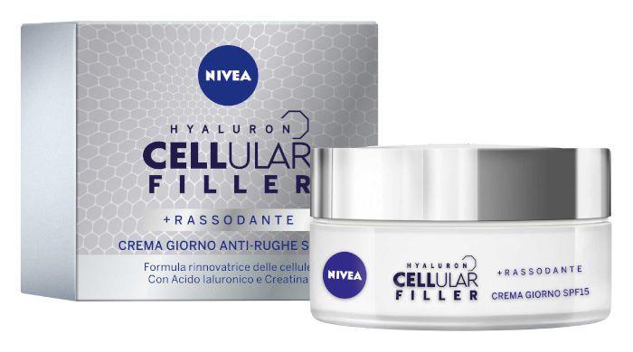 CREMA NIVEA VISO CELL FILL GIORNO 50ml SPF15 C6x26