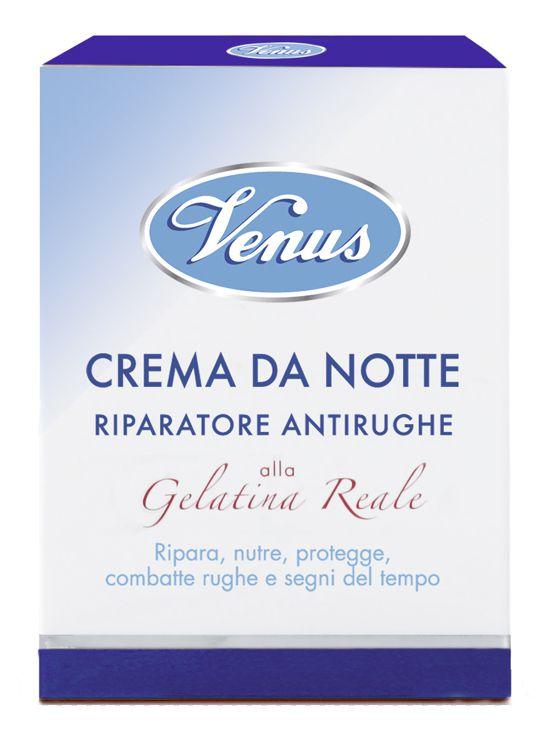 CREMA VENUS V CR NOTTE GELAT REALE 50ml BLU