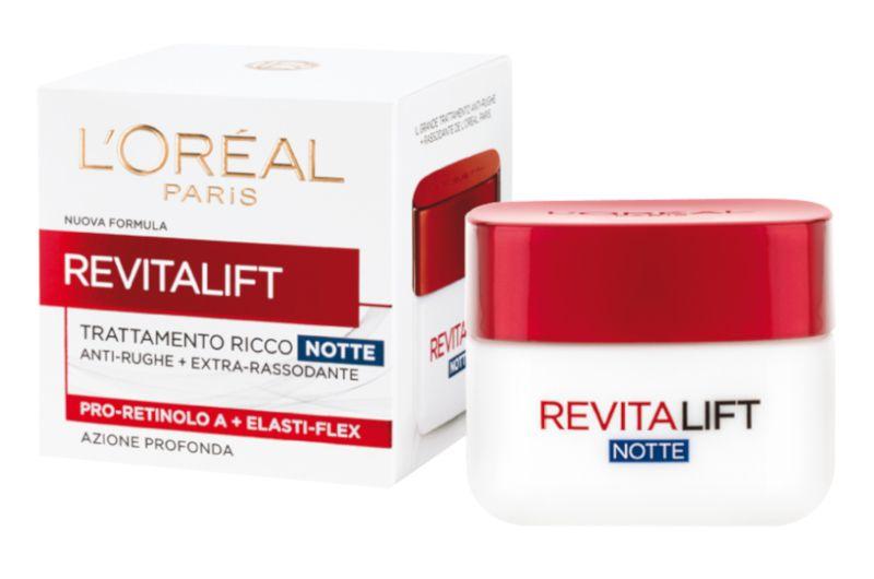 CREMA L'OREAL REVITALIFT CR NOTTE 50 C6x26 STR ROSSA