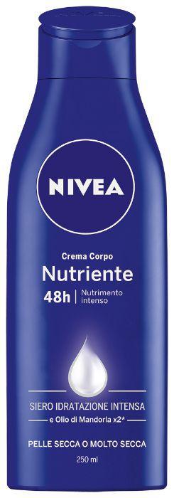 CREMA NIVEA NUTRIENTE INTENSIVE 250ml 1pz CORPO
