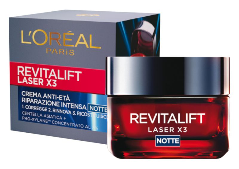 CREMA L'OREAL REVITALIFT LASER X3 CR NOTTE 50  ROSSA