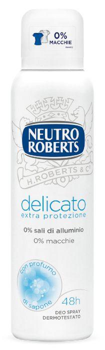 DEODORANTE NUTRO ROBERTS SPRAY 150ml DELICATO BIANCO