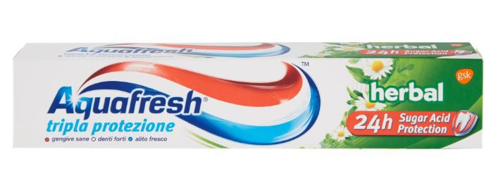 DENTIFRICIO AQUAFRESH 75ml HERBAL VERDE SPA