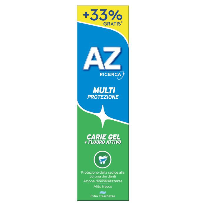 DENTIFRICIO AZ CARIE GEL 100ml 1pz VERDE