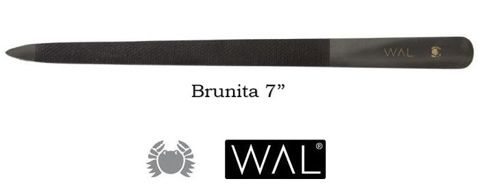 LIMA PER UNGHIE BRUNITA 7'' 867 1pz WAL