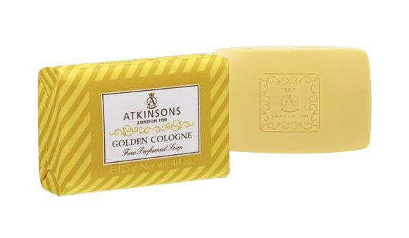 SAPONE SOLIDO ATKINSONS 125ml GOLDEN COLOGNE 1pz