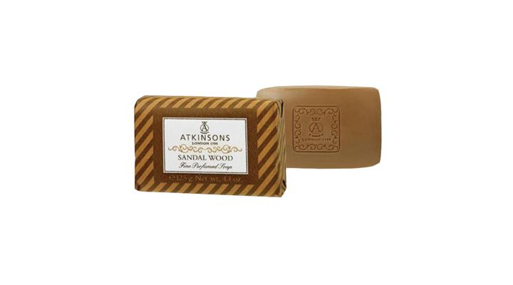 SAPONE SOLIDO ATKINSONS 125ml SANDAL WOOD 1pz
