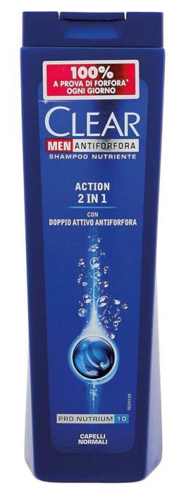SHAMPOO CLEAR 250ml 2/1 ACTION NORMALI 1pz - C12