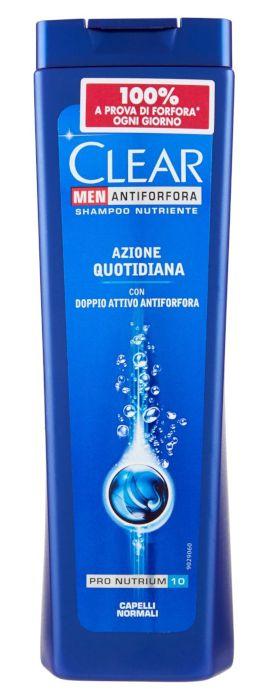 SHAMPOO CLEAR 250ml AZIONE QUOTIDIANA NORMAL 1pz - C12