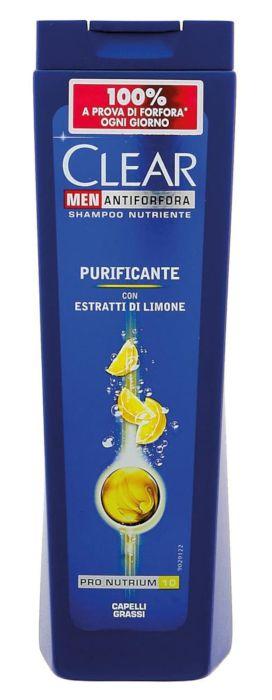 SHAMPOO CLEAR 250ml PURIFICANTE GRASSI LIMONE 1pz - C12