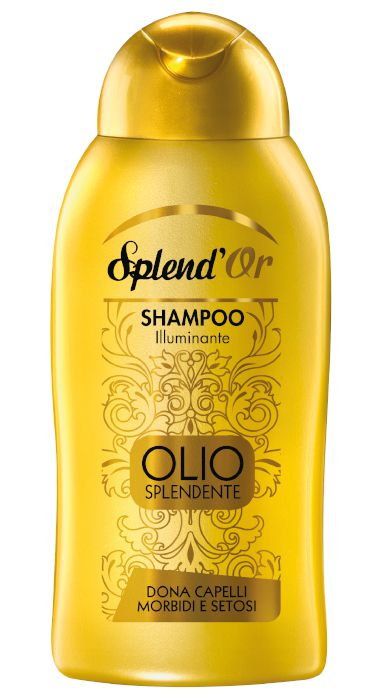 SHAMPOO SPLEND'OR SH 300ml OLIO SPLENDENTE 1pz - C12