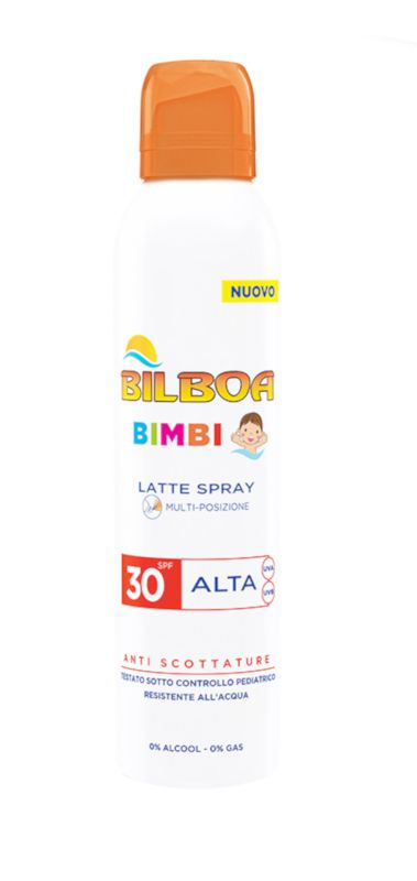SOLARI BILBOA BIMBI LATTE SPRAY 150ml 1pz ALTA