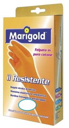 GUANTI GOMMA RESISTENTE 1pz  - MIS. 9,5 GIGANTE MARIGOLD