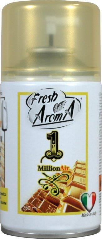 PROFUMATORE SPRAY AMBIENTE RICARICA FRESH AROMA 1pz 250ml 1MILLION