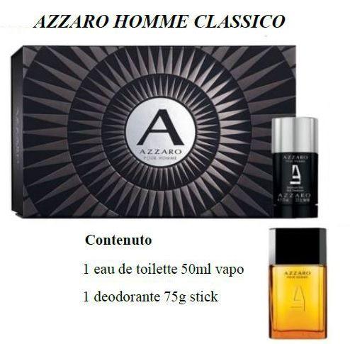 COFANETTO AZZARO CLAS H COF etv 50+deo stick 75 NUDO