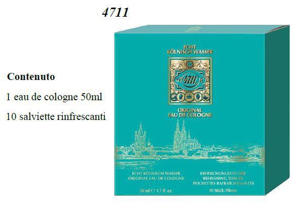 COFANETTO 4711 cof edc  50+fazz x10