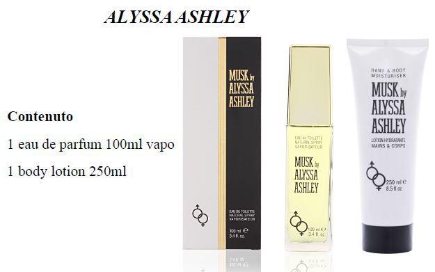 COFANETTO ALYSSA MUSK CLAS COF etv100+lotion tb 250
