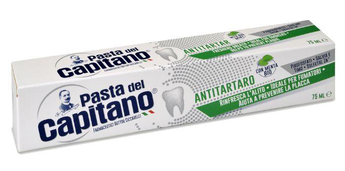 DENTIFRICIO PASTA DEL CAPITANO ANTI TARTARO V. 75ml 1pz