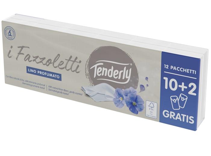 FAZZOLETTI TENDERLY 10+2pz STECCA SINGOLA