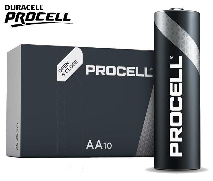 BATTERIE DURACELL PROCELL STILO MN1500 1.5v 10pz