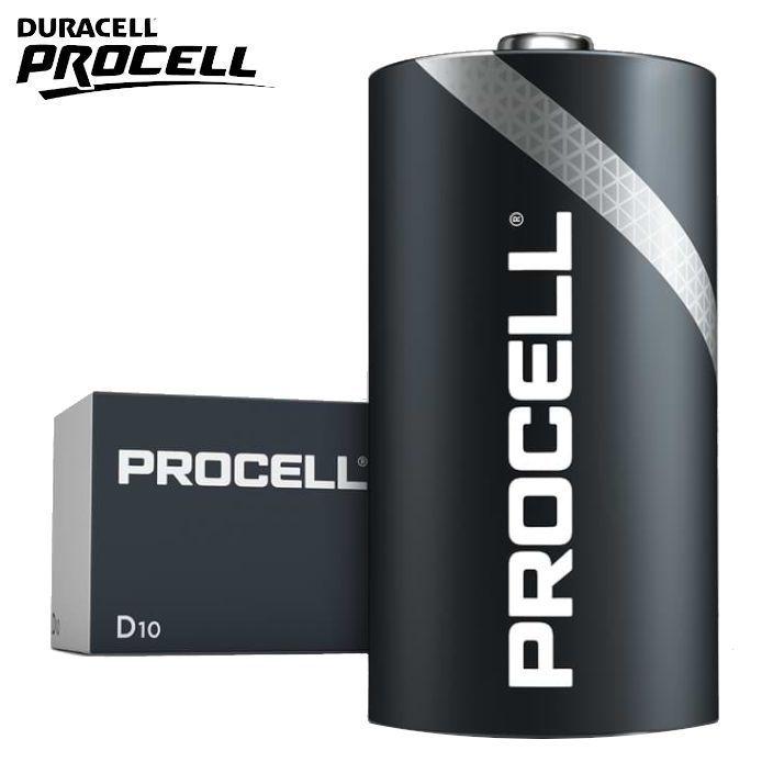 BATTERIE DURACELL PROCELL D TORCIA MN1300 1.5v 10pz