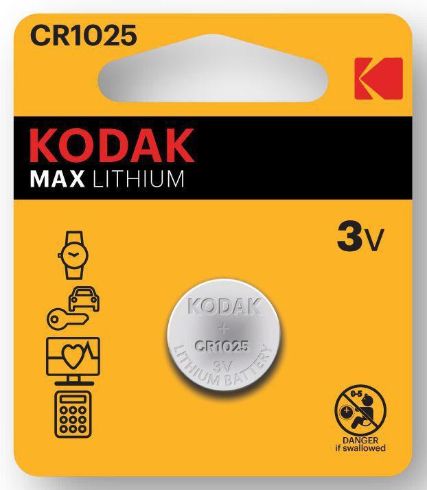 PASTIGLIE KODAK 1025 1 x2pz - LITHIUM
