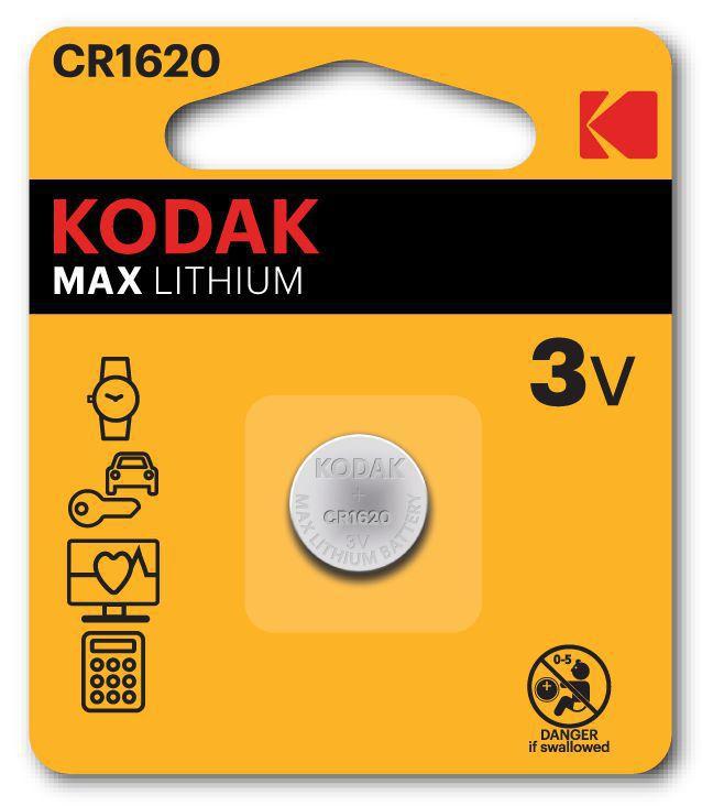 PASTIGLIE KODAK 1620 3v 1 x2pz - LITHIUM