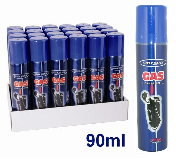 GAS SILVER MATCH 90ml 1pz
