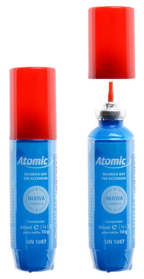 GAS ATOMIC 60ml 1pz IN PVC BLU