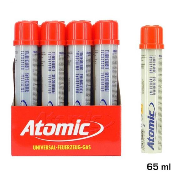 GAS ATOMIC 65ml 1pz NYLON CON UGELLO IN METALLO