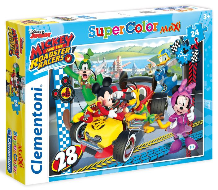 GIOCHI PUZZLE 24pz MICKEY& ROAD STER RACERS