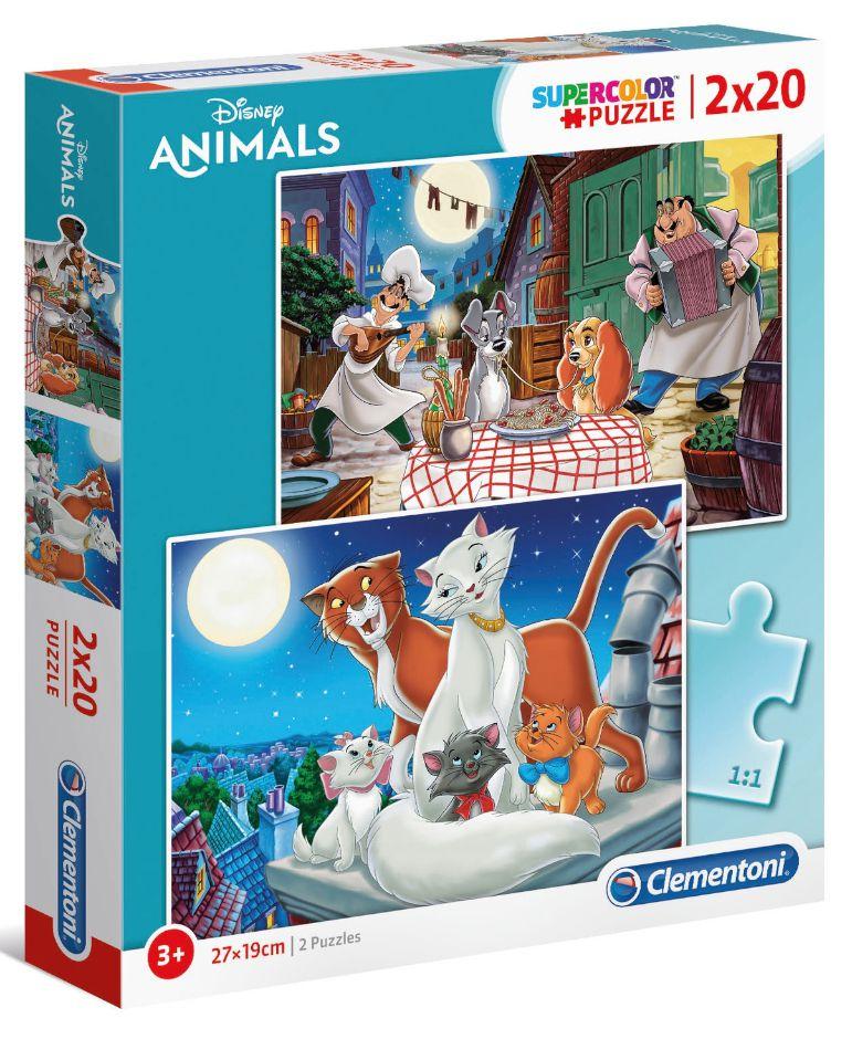 GIOCHI PUZZLE 2X20pz DISNEY ANIMAL FRIENDS