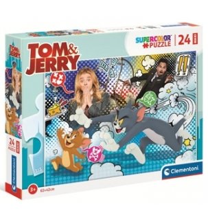 GIOCHI PUZZLE 24pz TOM AND JERRY