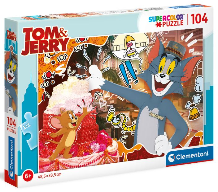 GIOCHI PUZZLE 104pz TOM AND JERRY