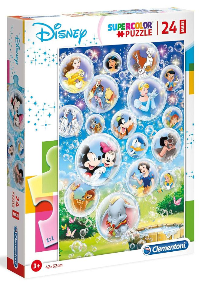 GIOCHI PUZZLE 24pz CLASSIC CHARACTERS