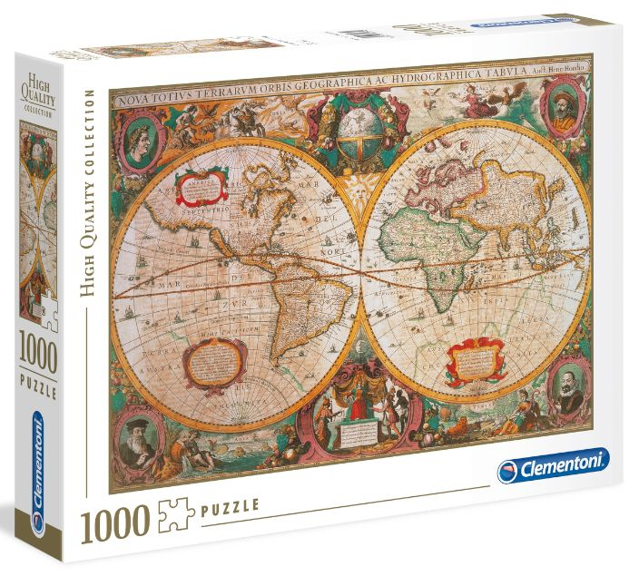 GIOCHI PUZZLE 1000pz OLD MAP