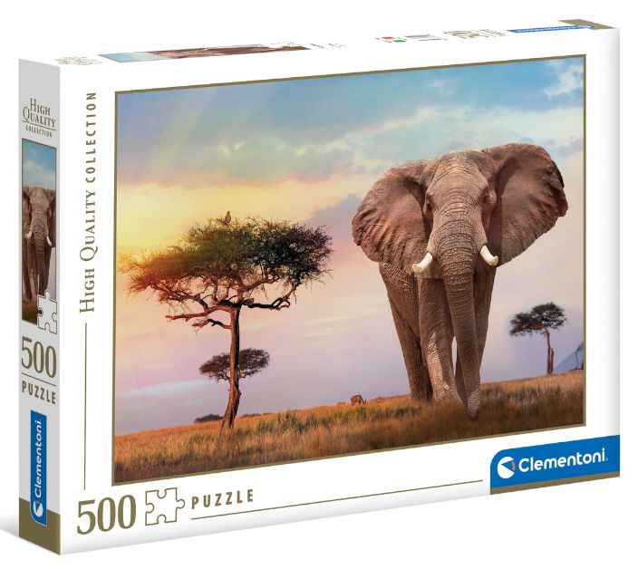 GIOCHI PUZZLE 500pz AFRICAN SUNSET