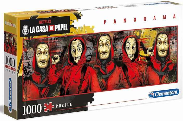 GIOCHI PUZZLE 1000pz LA CASA DI CARTA