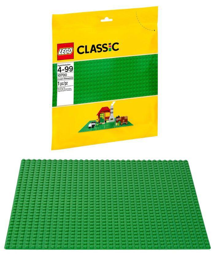 GIOCHI LEGO BASE VERDE
