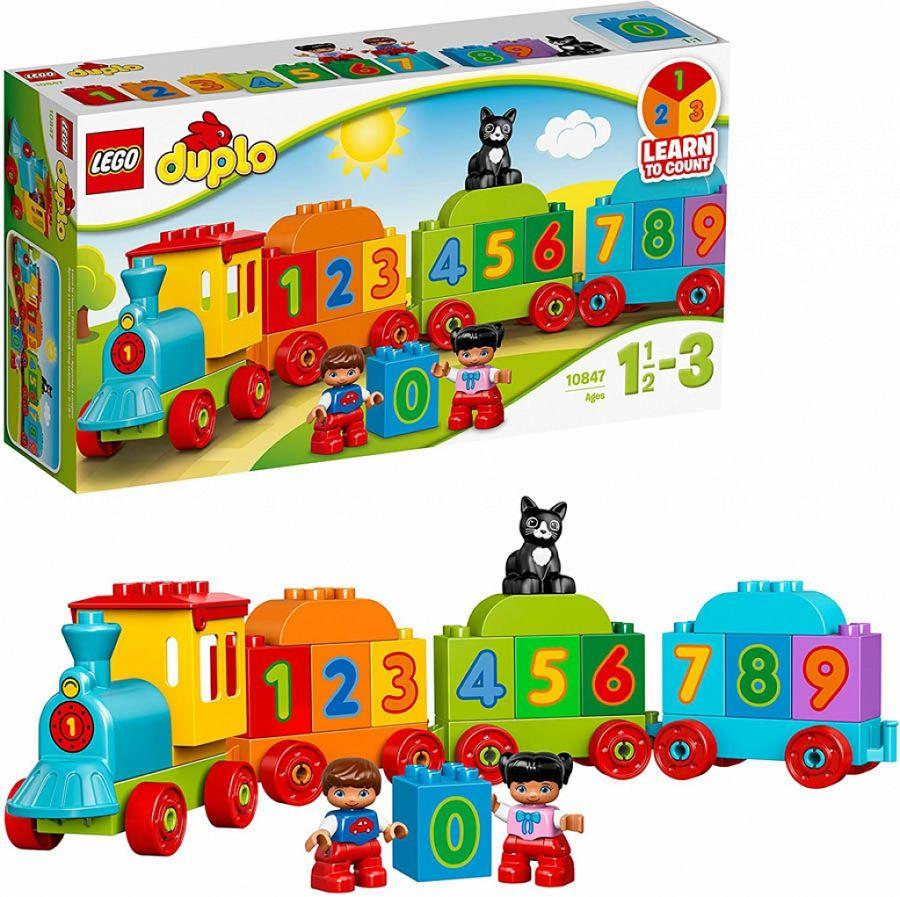 GIOCHI LEGO IL TRENO DEI NUMERI