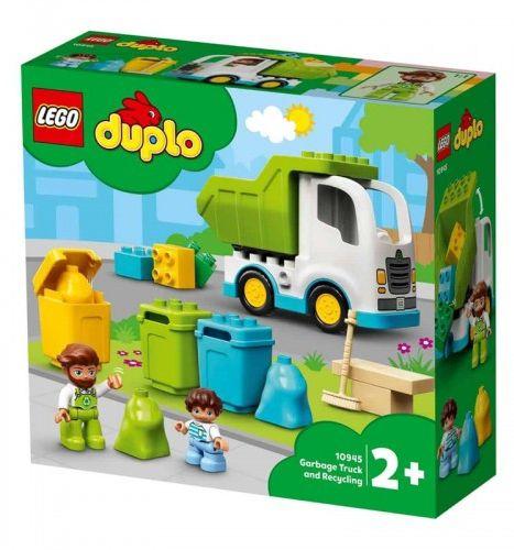 GIOCHI LEGO CAMION DELLA SPAZZATURA E RICICLAGGIO
