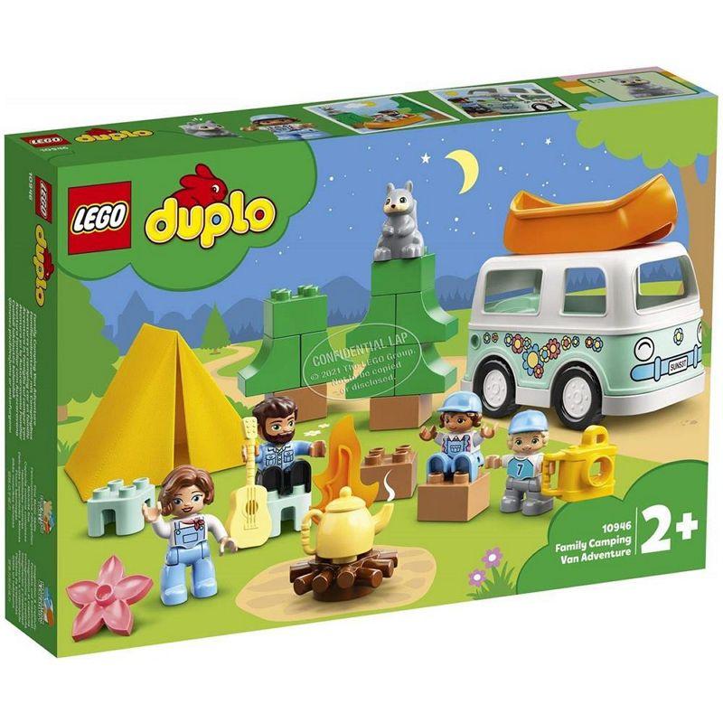 GIOCHI LEGO AVVENTURA IN FAMIGLIA SUL VAN