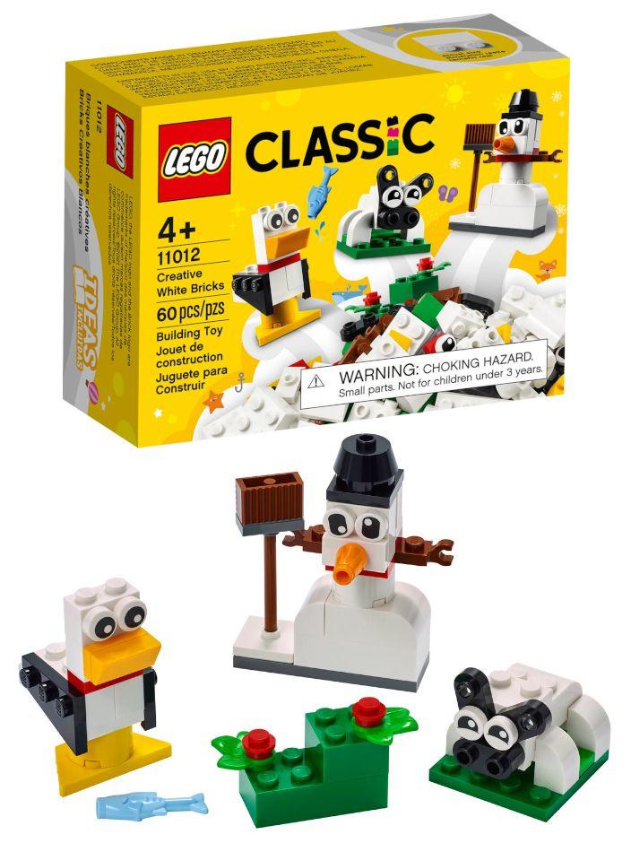 GIOCHI LEGO MATTONCINI BIANCHI 1pz